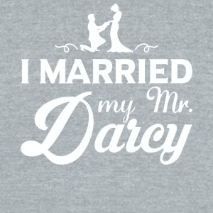 I Married My Mr. Darcy T Shirt - Unisex Tri-Blend T-Shirt by American Apparel
