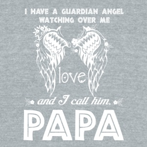 I Call Him Papa T Shirt - Unisex Tri-Blend T-Shirt by American Apparel