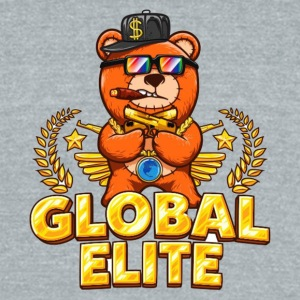 Global Elite - Unisex Tri-Blend T-Shirt by American Apparel