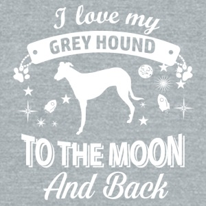 Love my Greyhound - Unisex Tri-Blend T-Shirt by American Apparel