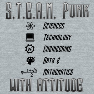 STEAM Punks - Unisex Tri-Blend T-Shirt by American Apparel