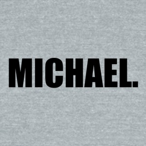 MICHAEL. - Unisex Tri-Blend T-Shirt by American Apparel