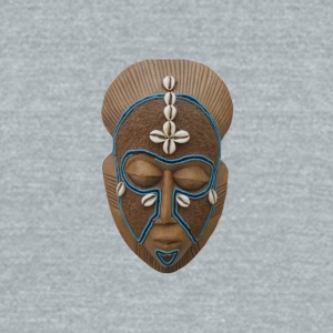 African mask - Unisex Tri-Blend T-Shirt by American Apparel