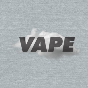 Vape apparel for every day vapers - Unisex Tri-Blend T-Shirt by American Apparel