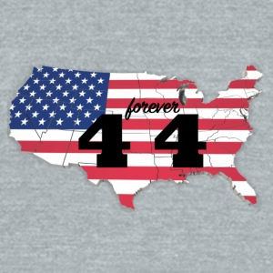 Forever 44 - Unisex Tri-Blend T-Shirt by American Apparel