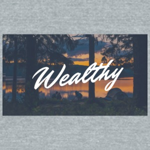 Wealthy Inc. - Unisex Tri-Blend T-Shirt by American Apparel