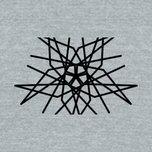 Chaotic - Unisex Tri-Blend T-Shirt by American Apparel