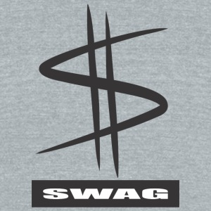 SWAG - Unisex Tri-Blend T-Shirt by American Apparel