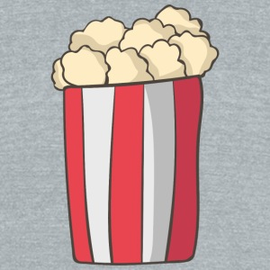 Popcorn - Unisex Tri-Blend T-Shirt by American Apparel