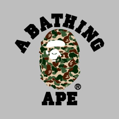 119b1858 BAPE A BATHING APE - Unisex Tri-Blend T-Shirt