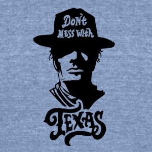 Texas - Unisex Tri-Blend T-Shirt by American Apparel