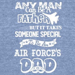 Air Force Dad Shirt - Unisex Tri-Blend T-Shirt by American Apparel