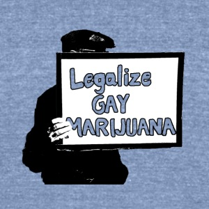 Legalize it - Unisex Tri-Blend T-Shirt by American Apparel