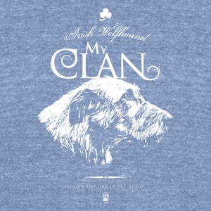 My Clan - Unisex Tri-Blend T-Shirt by American Apparel
