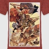 Cuchulain in Battle - Unisex Tri-Blend T-Shirt