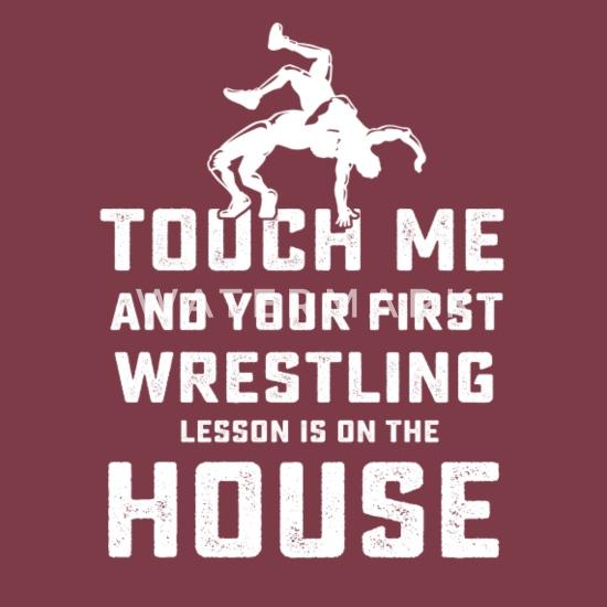 aff19c88a Design. Front. Back. Design. Front. Back. Design. Design. Front. Back. Wrestling  T-Shirts - First Wrestling Lesson Coach Designs - Unisex Tri-Blend T