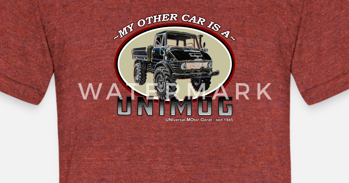 my other car is a unimog unisex tri blend t shirt. Black Bedroom Furniture Sets. Home Design Ideas