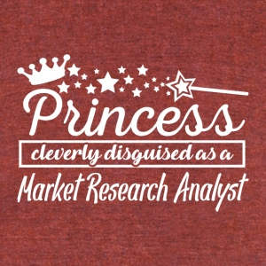 Market Research Analyst - Unisex Tri-Blend T-Shirt by American Apparel