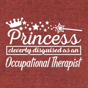 Occupational Therapist - Unisex Tri-Blend T-Shirt by American Apparel