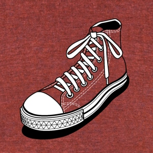 Alone Shoe - Unisex Tri-Blend T-Shirt by American Apparel