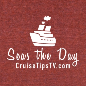Seas the Day Cruise T-shirt - Unisex Tri-Blend T-Shirt by American Apparel