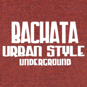 Bachata Urban Style Underground - Unisex Tri-Blend T-Shirt by American Apparel