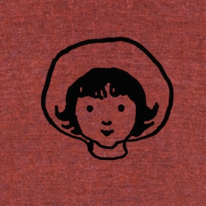Milly Molly Mandy - Unisex Tri-Blend T-Shirt by American Apparel