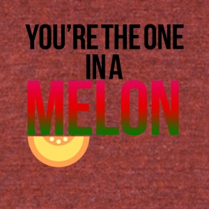 You are the one in a million - Unisex Tri-Blend T-Shirt by American Apparel