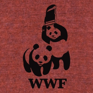 WWF Parody - Unisex Tri-Blend T-Shirt by American Apparel