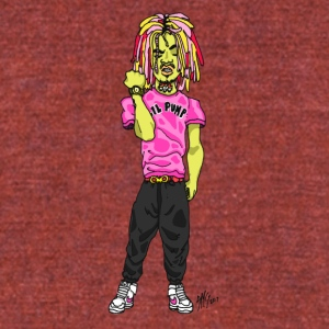 LIL PUMP - Unisex Tri-Blend T-Shirt by American Apparel