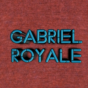Gabriel royale - Unisex Tri-Blend T-Shirt by American Apparel