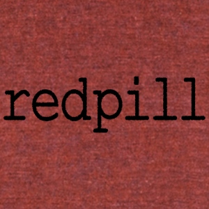 redpill - Unisex Tri-Blend T-Shirt by American Apparel