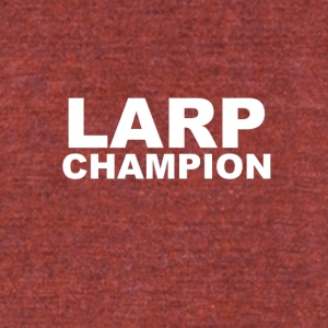 LARP Champion - Unisex Tri-Blend T-Shirt by American Apparel
