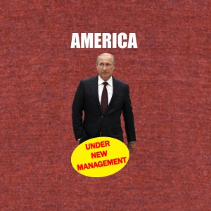 AMERICA UNDER NEW MANAGEMENT - Unisex Tri-Blend T-Shirt by American Apparel