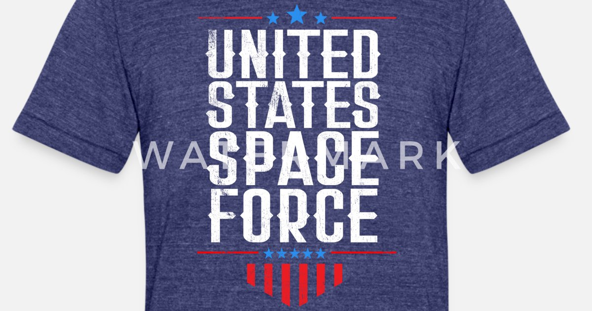 4a877e38 Unisex Tri-Blend T-ShirtUnited States Space Force product Trump Funny