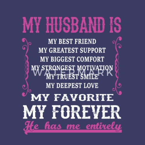 My Husband Is My Best Friend T Shirt By Poca Spreadshirt