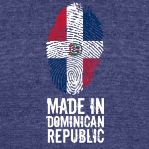 Made In Dominican Republic - Unisex Tri-Blend T-Shirt by American Apparel