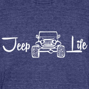 Jeep Life - Unisex Tri-Blend T-Shirt by American Apparel
