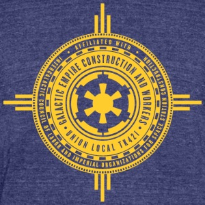 Galactic Union - Unisex Tri-Blend T-Shirt by American Apparel