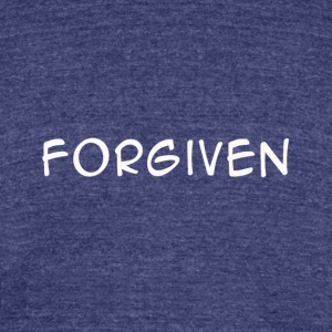 FORGIVEN WH TEE - Unisex Tri-Blend T-Shirt by American Apparel