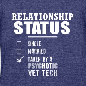 Relationship Status - Unisex Tri-Blend T-Shirt by American Apparel