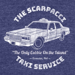 The Scarpacci Taxi Service - Unisex Tri-Blend T-Shirt by American Apparel