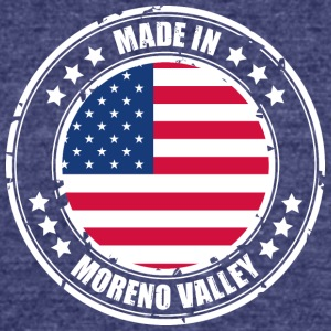 MORENO VALLEY - Unisex Tri-Blend T-Shirt by American Apparel