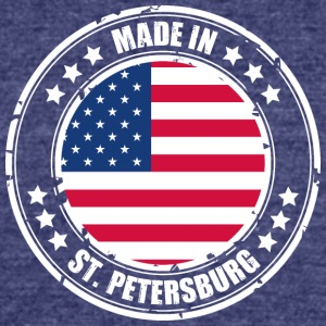 ST. PETERSBURG - Unisex Tri-Blend T-Shirt by American Apparel