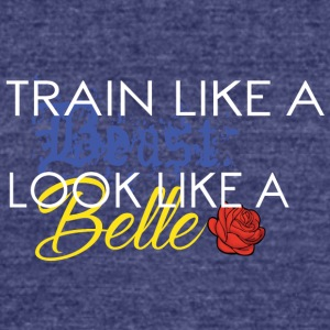 TrainLikeAWTE - Unisex Tri-Blend T-Shirt by American Apparel