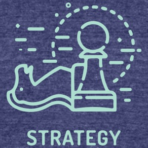 Strategy - Unisex Tri-Blend T-Shirt by American Apparel