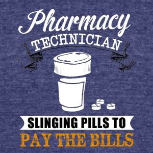 PHARMACY TEH - Unisex Tri-Blend T-Shirt by American Apparel