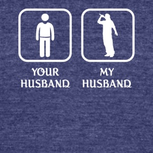 Husband Beatboxing Love- cool shirt,geek hoodie,ta - Unisex Tri-Blend T-Shirt by American Apparel