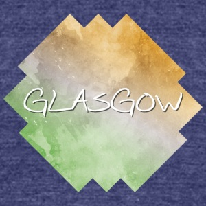 Glasgow - Unisex Tri-Blend T-Shirt by American Apparel