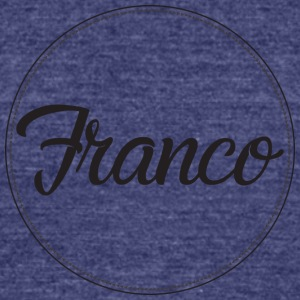Franco Design Black Ring - Unisex Tri-Blend T-Shirt by American Apparel